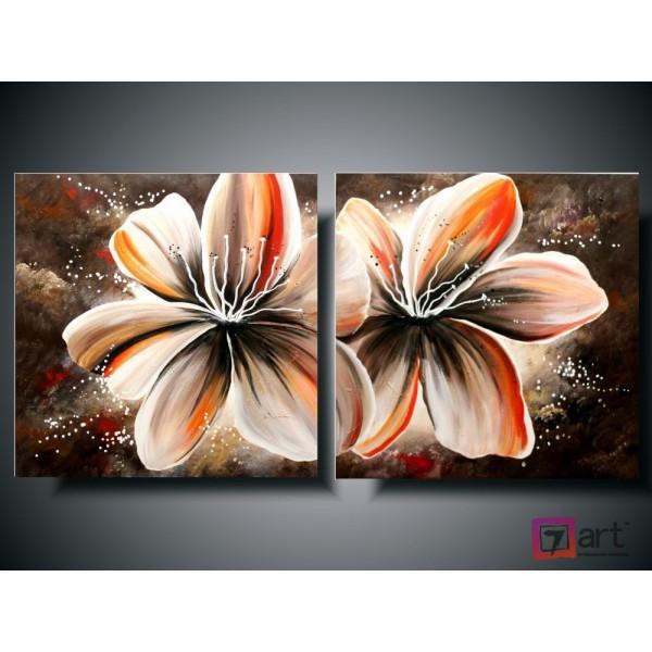 Модульные картины цветы, ART: fosm_0037