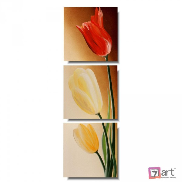 Модульные картины, Тюльпаны, ART: fosm_0187