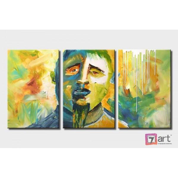 Модульная картина для интерьера, триптих, ART: itrm_0009