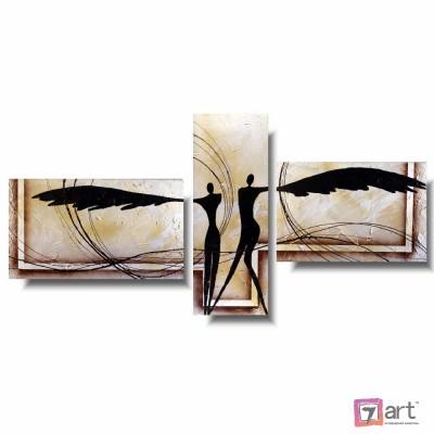 Модульная картина для интерьера, триптих, ART: itrm_0015