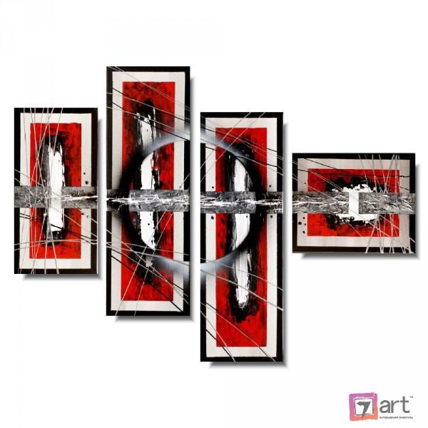 Модульные картины абстракция, ART: absm_0278