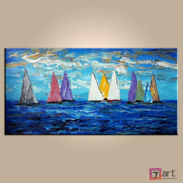 Купить картину, морской пейзаж, ART: msp_0017