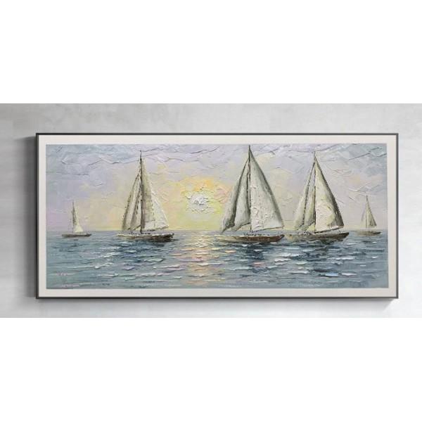 Картина морской пейзаж, ART: more0017