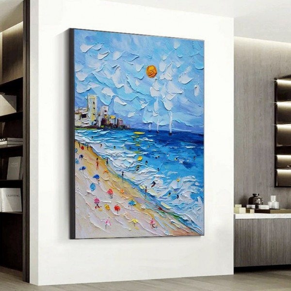 Картина морской пейзаж, ART: more0046