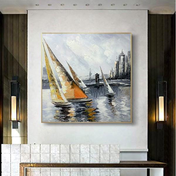 Картина морской пейзаж, ART: more0009