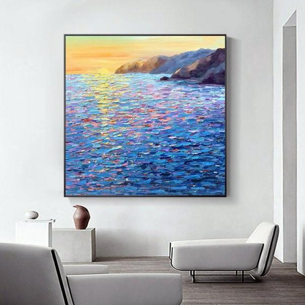 Картина морской пейзаж, ART: more0011