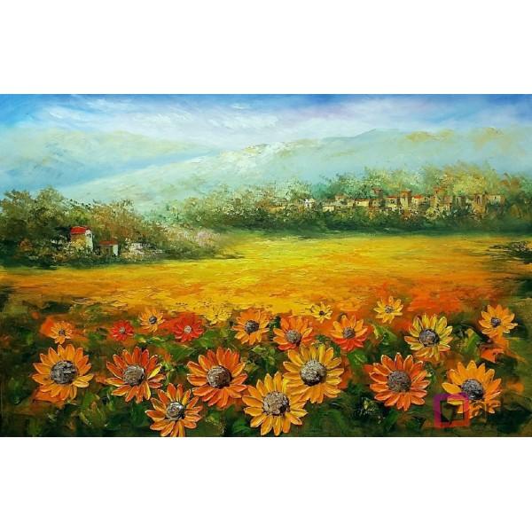 Картина маслом пейзаж, ART: ntl_0002