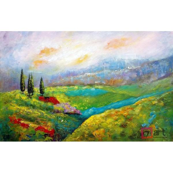 Картина маслом пейзаж, ART: ntl_0003