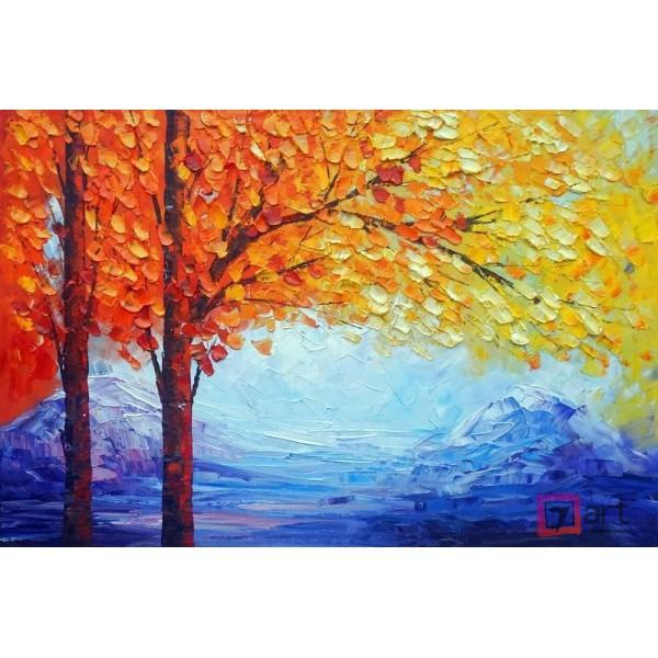 Картина маслом пейзаж, ART: ntl_0005