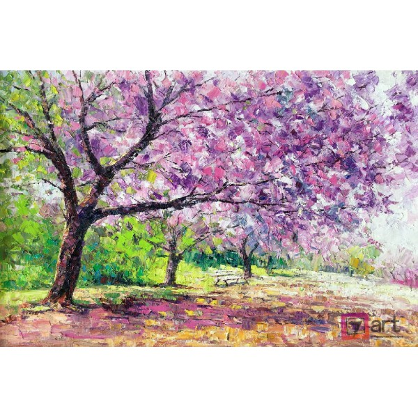 Картина маслом пейзаж, ART: ntl_0009