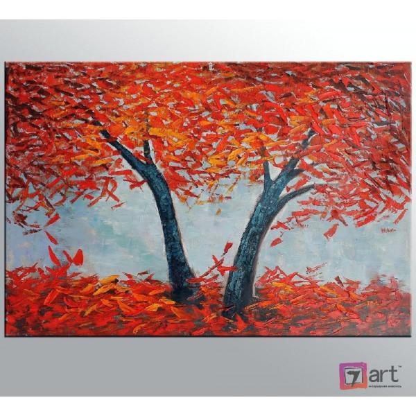 Картина маслом пейзаж, ART: ntl_0011