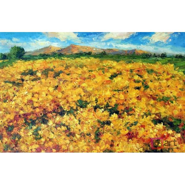 Картина маслом пейзаж, ART: ntl_0014