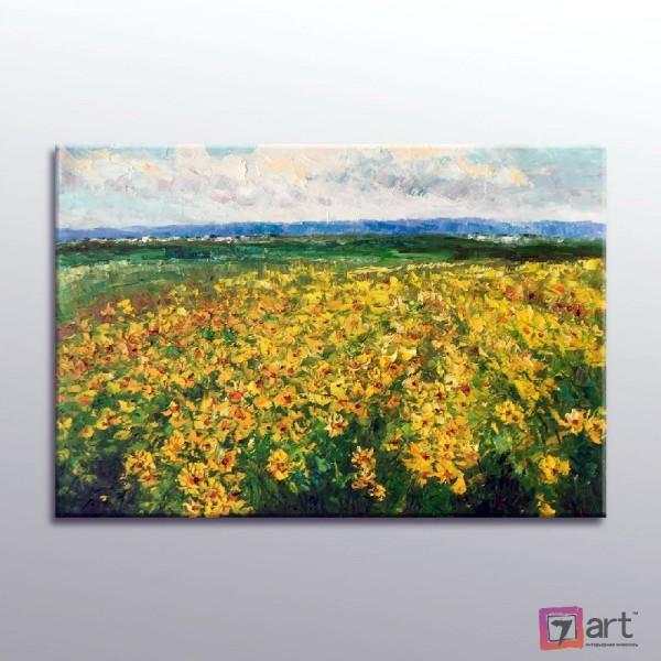 Картина маслом пейзаж, ART: ntl_0017