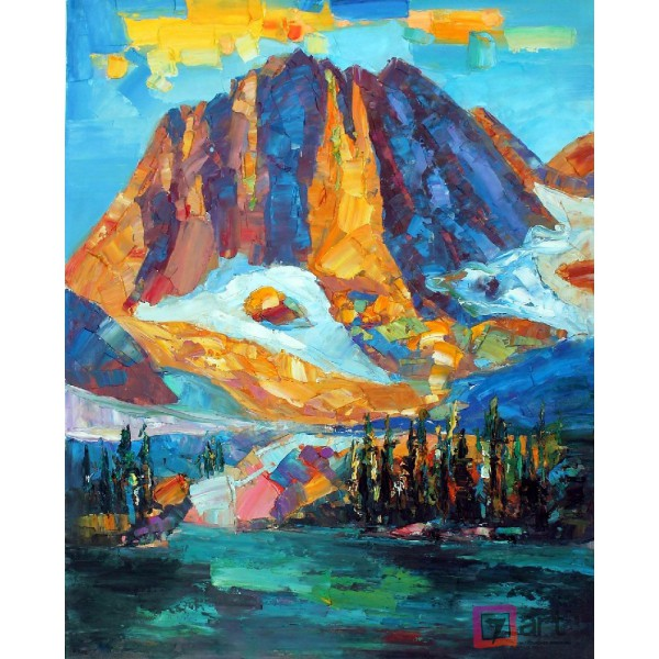 Картина маслом пейзаж, ART: ntl_0020
