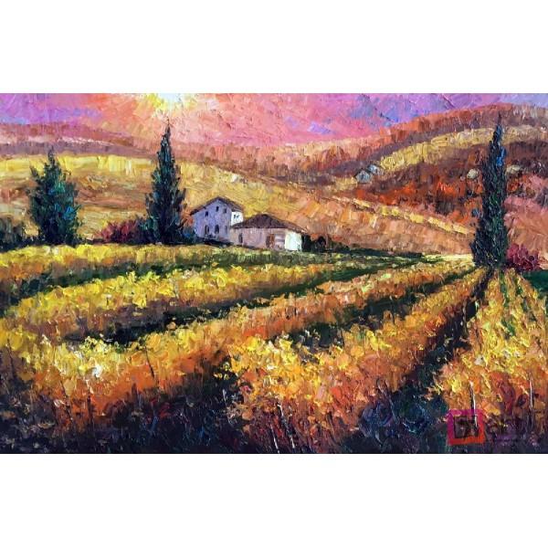 Картина маслом пейзаж, ART: ntl_0027