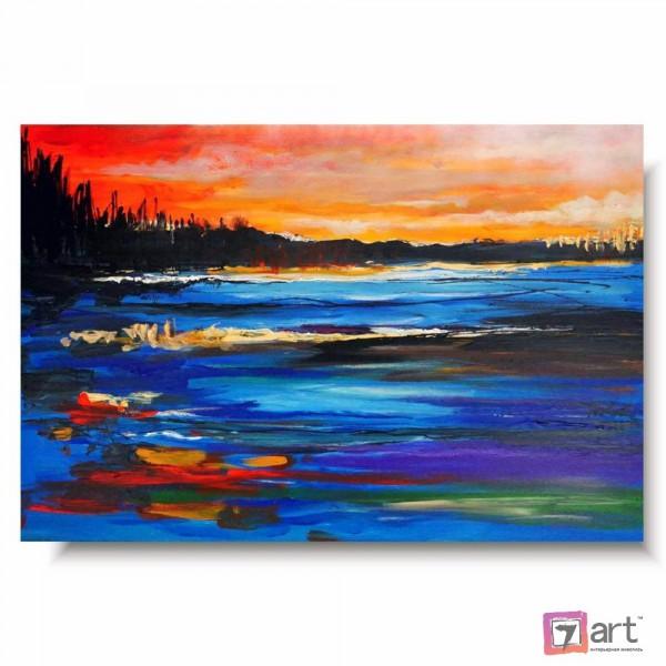 Картина маслом пейзаж, ART: ntl_0028