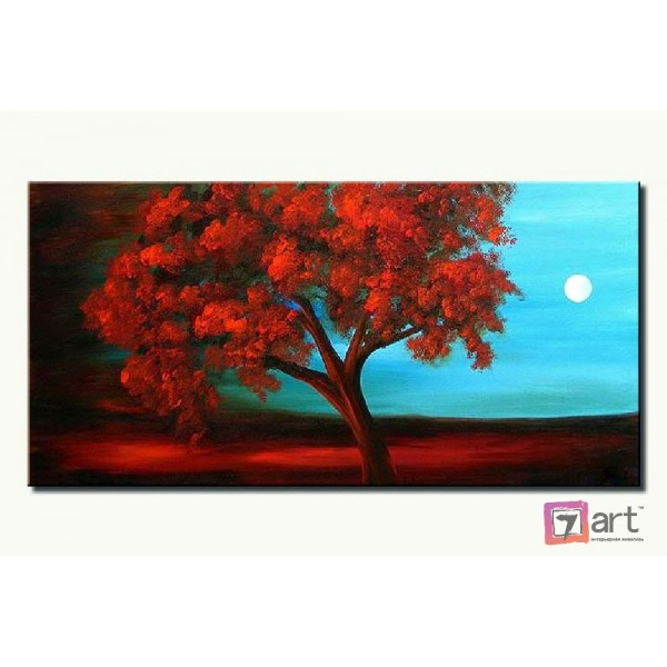 Картина маслом пейзаж, ART: ntl_0032