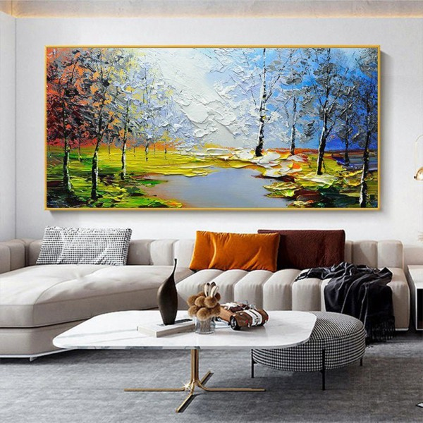 Картина маслом пейзаж, ART: ntrl0093
