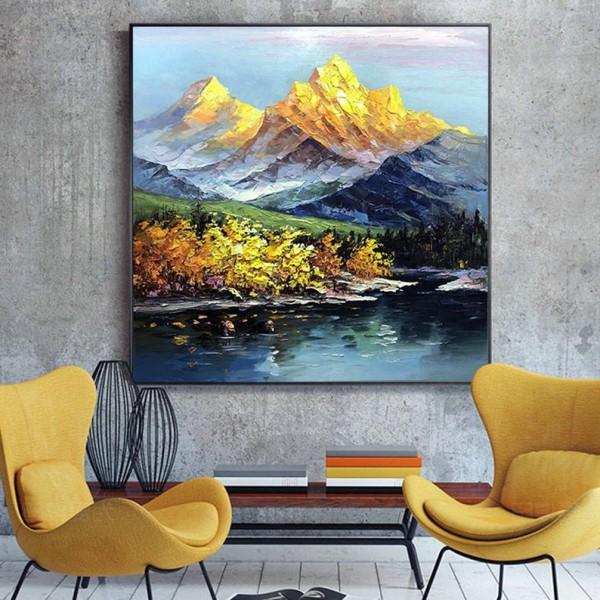 Картина маслом пейзаж, ART: ntrl0032