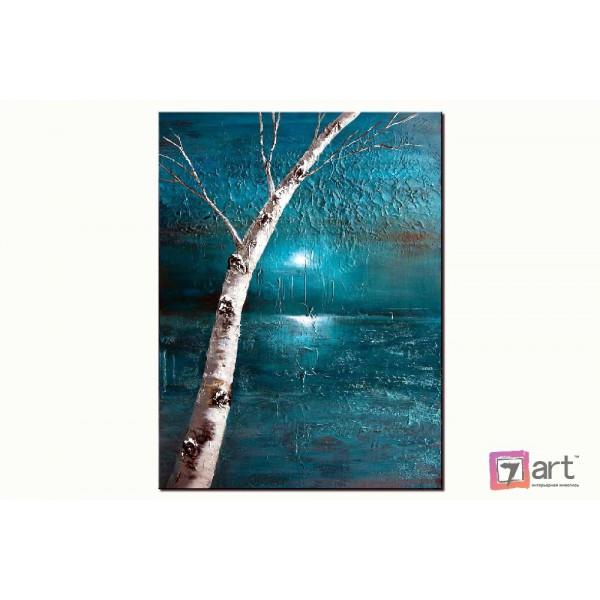 Картина маслом пейзаж, ART: ntl_0001