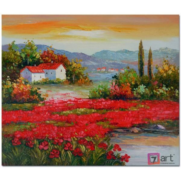 Картина маслом пейзаж, ART: ntl_0064