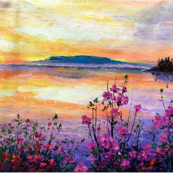 Картина маслом пейзаж, ART: ntl_0067