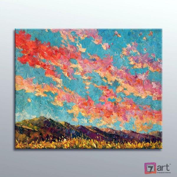 Картина маслом пейзаж, ART: ntl_0071